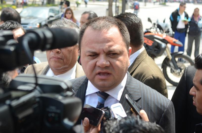 Jefe de la Policis del D.F. Jesús Rodriguez Almeida.