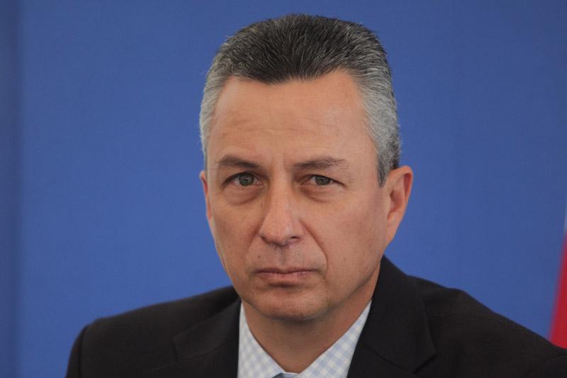 PUEBLA, Pue., 10 noviembre 2011.- El procurador de Justicia del estado, Victor Carrancá durante rueda de prensa.  //Agencia Enfoque//