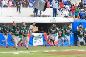 PUEBLA, Pue. 09 Septiembre 2017.- Los Toros de Tijuana vencen 15-3 a los Pericos de Puebla en el quinto Juego y se coronan Campeonoes de a Serie del Rey 2017 realizado en el Parque Hermanos Serdán. //Agencia Enfoque//